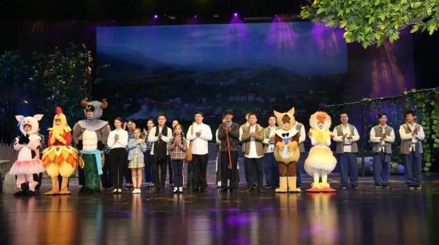 尔雅传美文化传播有限公司首次承接儿童音乐剧《太阳的女儿》演出圆满成功